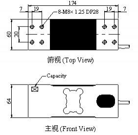 Mavin NA3 Loadcell ölçüler